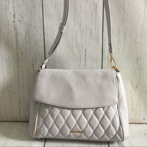 Vera Bradley Quilted Soft Pebbled Leather Bag